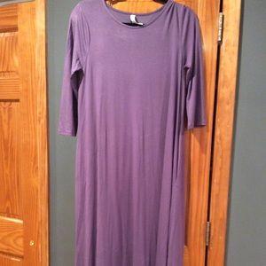 Zenana Purple Dress